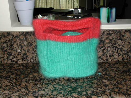 Felted Marsupial Tote
