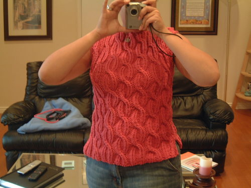 Cable 8 Sweater